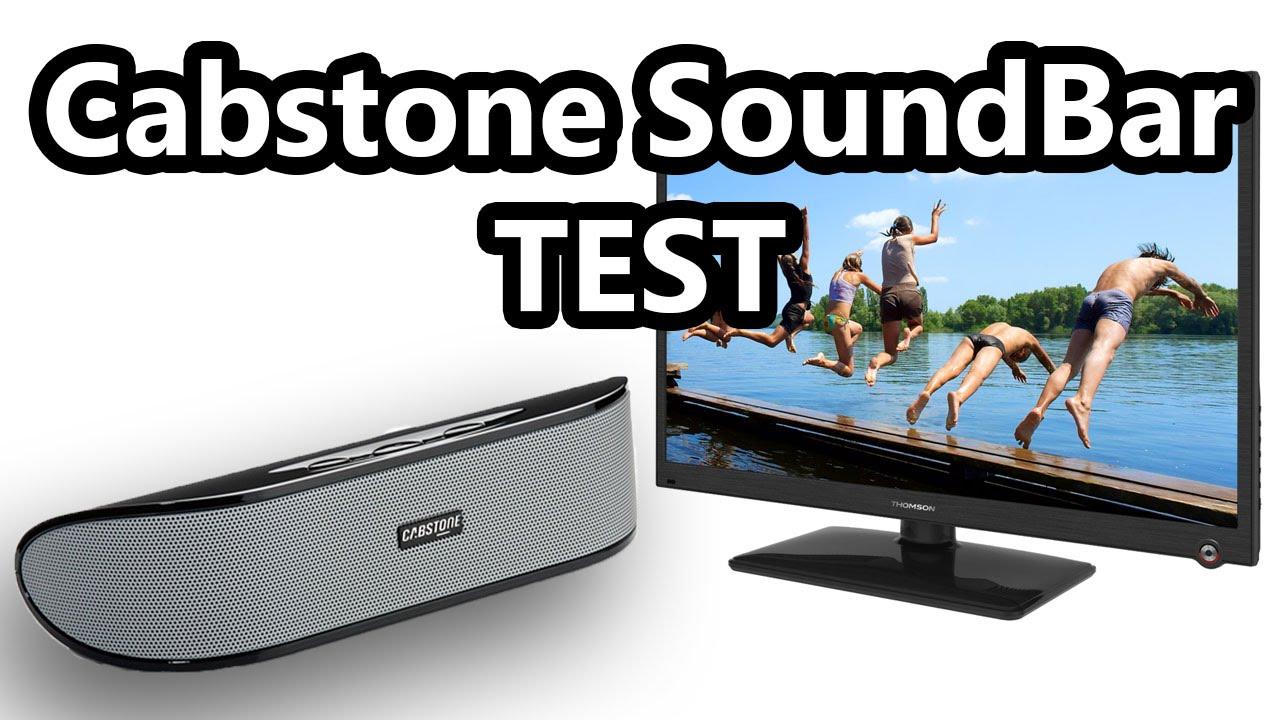 unboxing test cabstone soundbar stereo lautsprecher. Black Bedroom Furniture Sets. Home Design Ideas