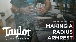From The Factory: Making A Radius Armrest