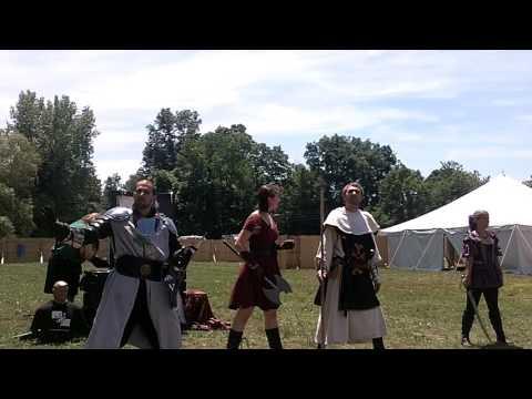 Midsummer Fantasy Renaissance Faire 2014: The Questless Company Scene 1 6/29/14