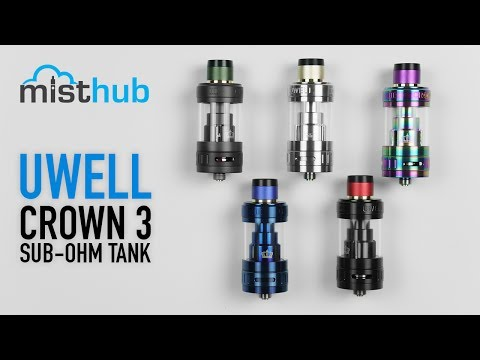 The UWELL Crown 3 Sub-Ohm Tank Unboxing and Quick Product Overview