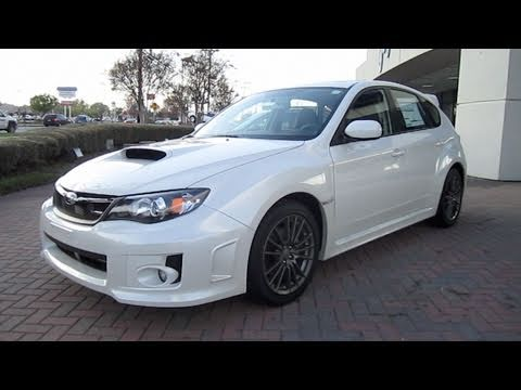2011 Subaru Impreza Wrx Limited Hatchback Start Up Exhaust And In