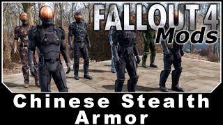 Скачать Fallout 4 Mods Chinese Stealth Armor