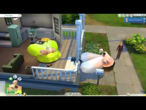 THE SIMS 4 - SUPER FAT WOMAN