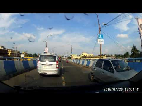 Barrackpore Flyover Towards Masjid More - Dash Cam Video 1080p 60 fps
