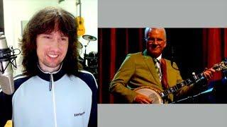 British guitarist reacts to STEVE MARTIN on his BANJO!!!