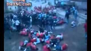 Pelea de 2 bandas hooligans en Rusia.