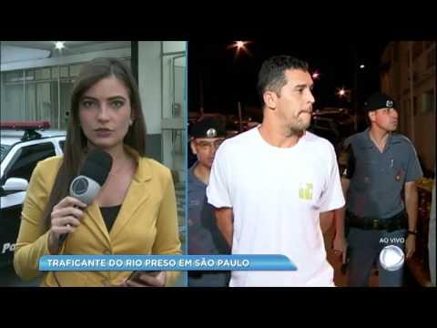 Canelão da Rocinha, traficante procurado no Rio de Janeiro, é preso em São Paulo