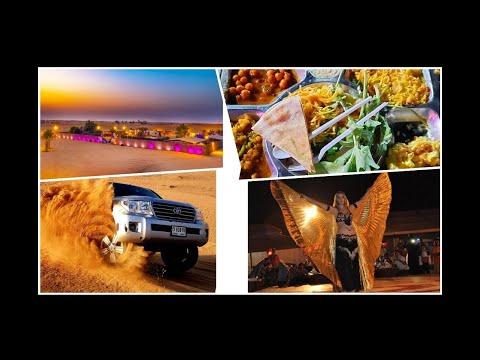 Desert safari Dubai / Dune Bashing/ Tanura Dance/Bally dance/ and BBQ Dinner