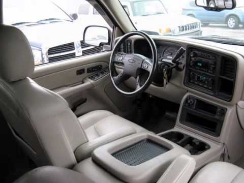 2005 Chevrolet Avalanche Lt 4x4 Leather Sunroof
