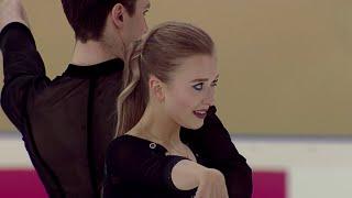 Ритм-танец. Танцы. Первенство России по фигурному катанию среди юниоров 2020