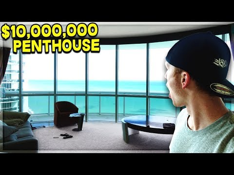 CRAZY $10M MIAMI PENTHOUSE TOUR!