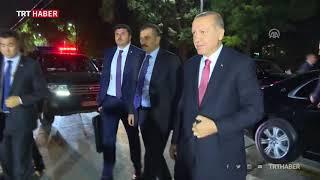 Cumhurbaşkanı Erdoğan'a Kırgızistan'da sevgi gösterisi