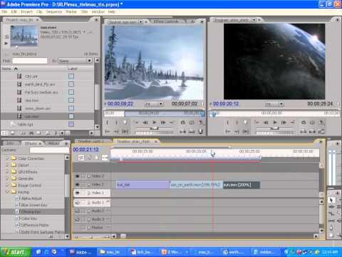 Học dựng phim bằng Adobe premiere bài 2