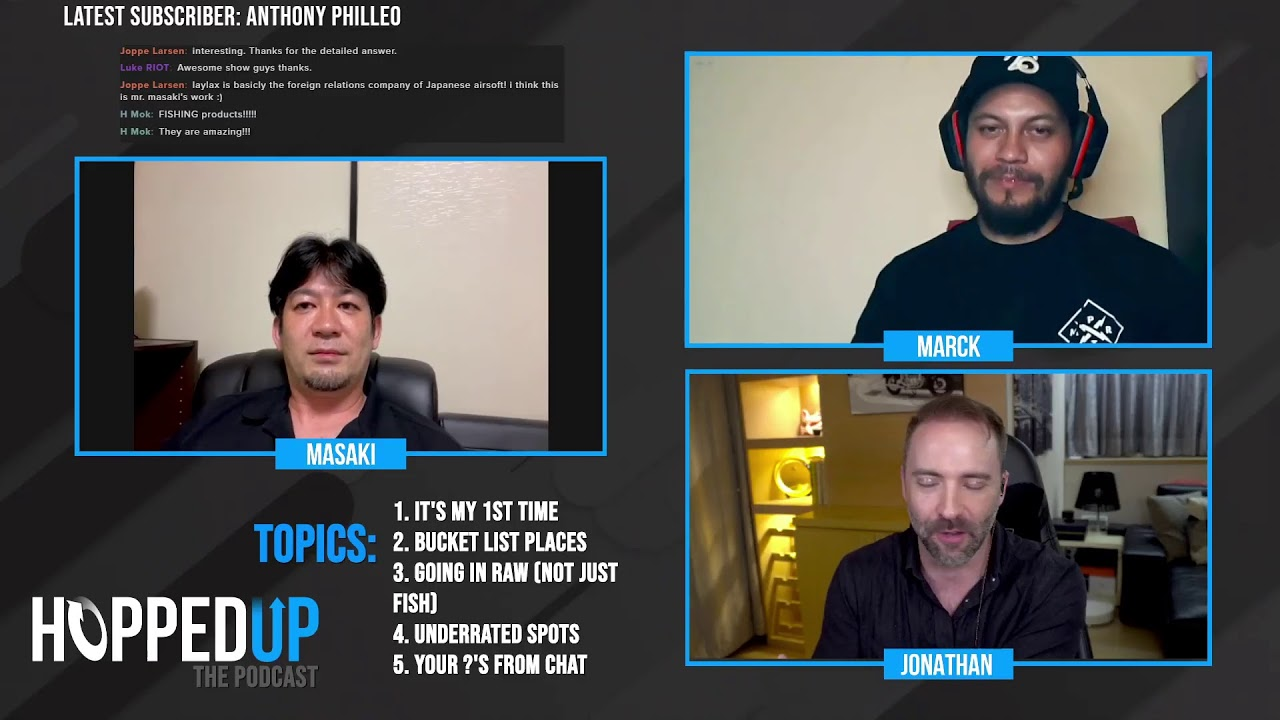 The HoppedUp Podcast: Episode 3 Live! - Japan