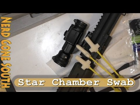 how to clean a rifle chamber