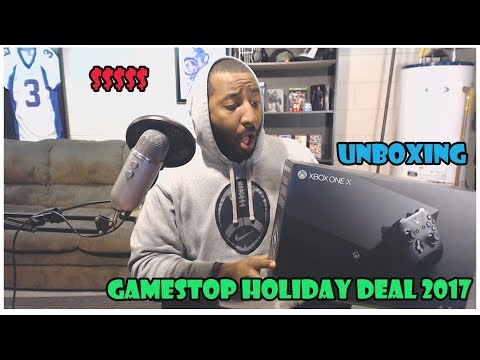 Unboxing Gamestop Holiday Deal 2017. Total cost and what to expect