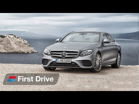 2016 Mercedes E-Class first drive review
