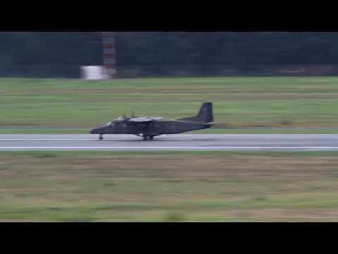 Italy Army Dornier-228 take off at Nuremberg, (NUE/EDDN)