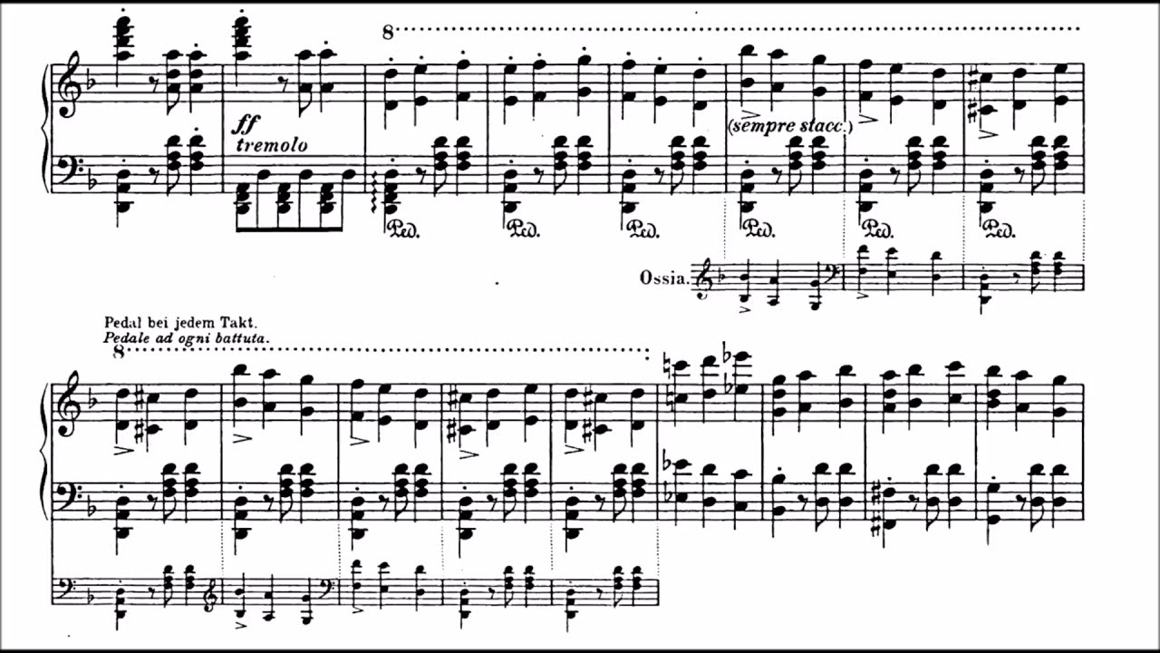 Beethoven-Liszt - Symphony 9 (Molto Vivace) - Cyprien Katsaris Piano   Pianifico 14:56 HD
