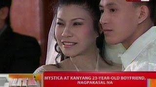 BT: Mystica at 23-year-old boyfriend, nagpakasal na