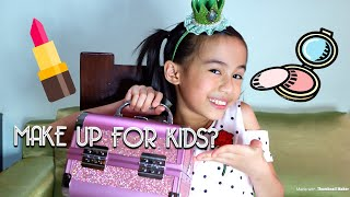 WHAT'S IN MY MAKE UP KIT + MAKE UP FOR KIDS? | YESHA C. 🦄