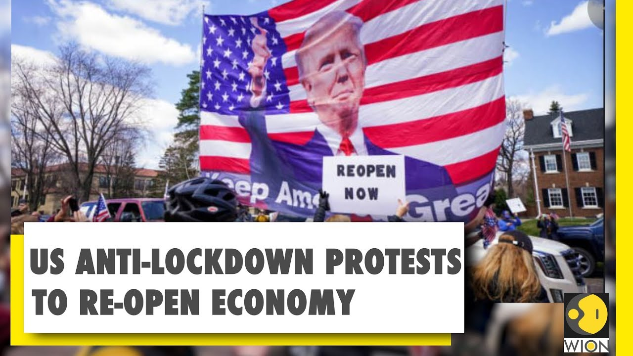 Anti Lockdown Protest Usa