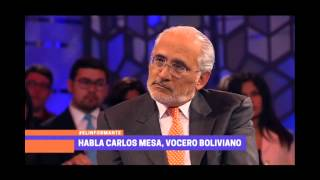 """Ex presidente de Bolivia: """"El escenario que plantea Chile sobre el juicio es sesgado"""""""