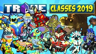 """HOW TO """"BUILD"""" ALL CLASSES FOR U9/U10 & ULTRA SHADOW TOWERS ✪ Trove Class Guide / Tutorial 2019"""