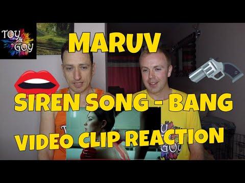 MARUV - SIREN SONG - Music Video Reaction
