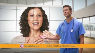 ARM & HAMMER™ Simply Saline™ Nasal Mists -- Featuring Dr. Travis Stork