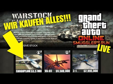 wir kaufen alles smugglers run dlc milit r flugzeug update gta 5 online deutsch ju. Black Bedroom Furniture Sets. Home Design Ideas