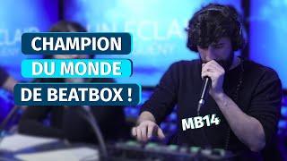 Le live de MB14 dans un Un Éclair de Guény !