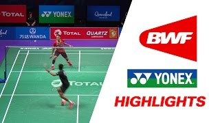 TOTAL BWF Sudirman Cup 2017 | Badminton Day 3 Grp 1D-INA vs IND – Highlights