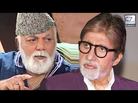 When Mehmood Got UPSET With Amitabh Bachchan