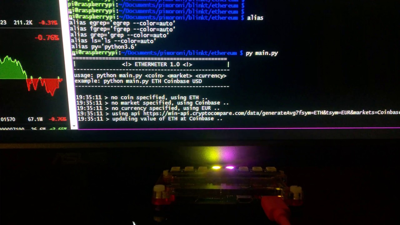 raspberry pi using pi hole and mining cryptocurrency