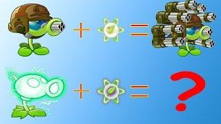 Plants vs Zombies 2 Hack Electric Peashooter vs Gatling Pea