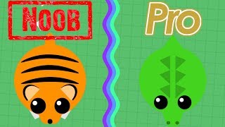 Mope.io Pro Vs. Noob Choosing Animals Edition PART 2!! (Mope.io Pro Vs. Noob)