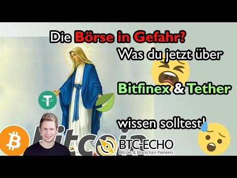 Börse am ENDE? Was du jetzt über BITFINEX & TETHER (USDT) wissen solltest!