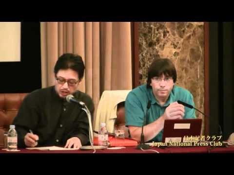 Conférence de presse CRIIRAD / PROJECT 47 à Tokyo 1er juin 2011