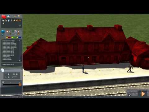 Train Simulator 2014 - Tutorial 5 (Stations & Passenger AI)