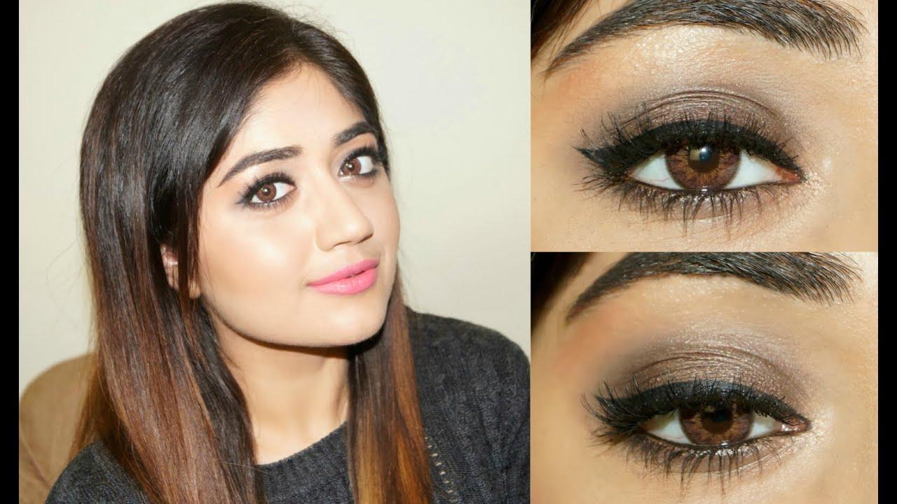 smoky eye makeup tutorial for indian skin corallista