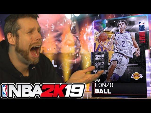 Galaxy Opal Lonzo Ball....wow. NBA 2K19
