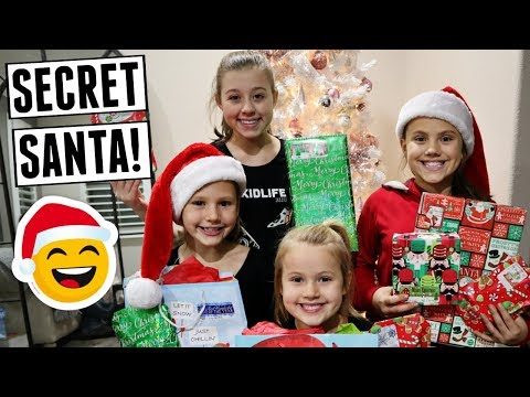 Epic Christmas Secret Santa Mystery Box! Opening Presents!