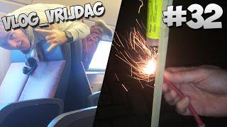 Vlog_Vrijdag #32 - GEK DOEN IN DE TREIN & VUURWERK
