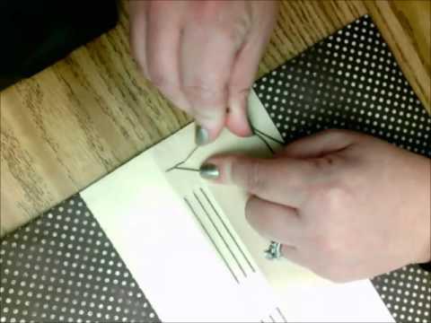 Longstitch sewing third signature and finishing binding