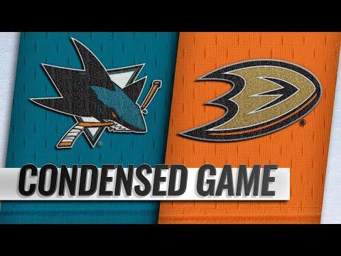 10/28/18 Condensed Game: Sharks @ Ducks