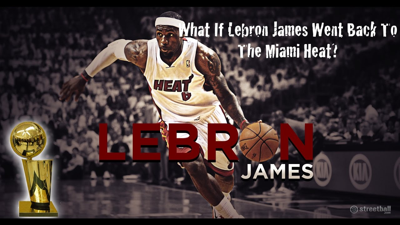 Miami heat lebron jamess vs golden state warriors nba2k17 miami - What If Lebron James Played For The Miami Heat Again Nba 2k17
