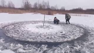 Когда рыбалка не задалась//зимняя рыбалка