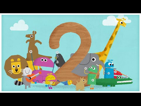 """The Number Two,"" Number Songs by StoryBots"