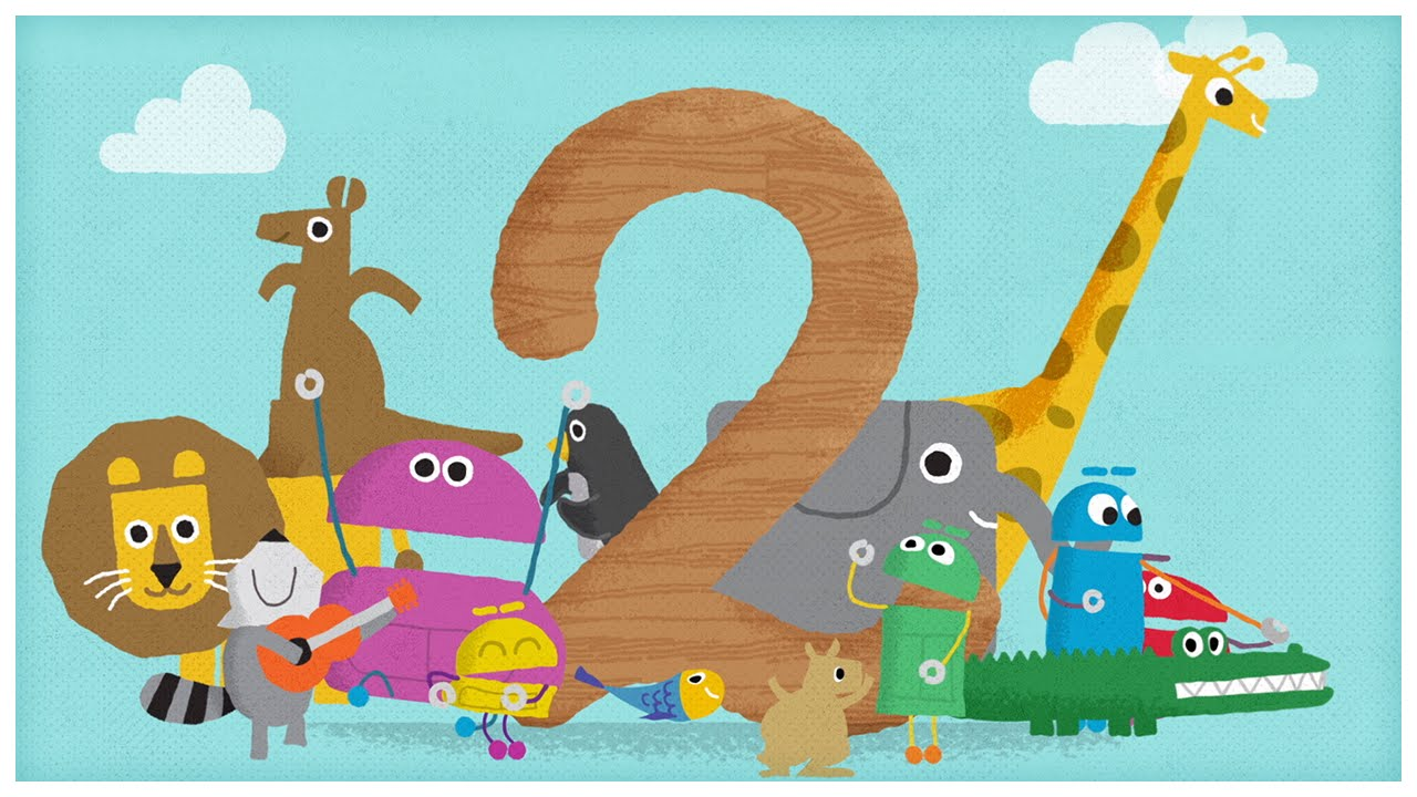 """""""The Number Two,"""" Number Songs By StoryBots"""